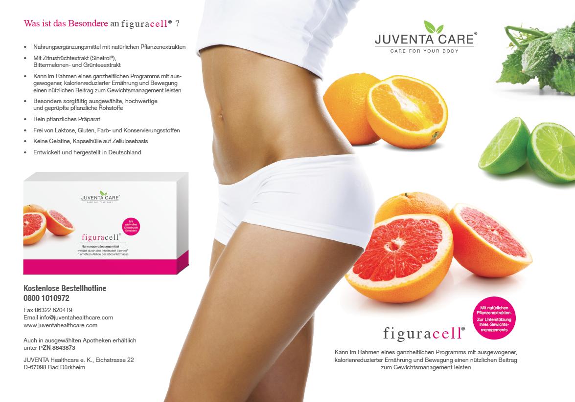 Juventa Care: Körperstoffwechsel optimieren mit figuracell